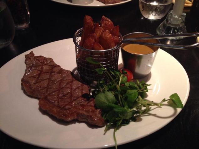 Sirloin Steak at Bo'Vine