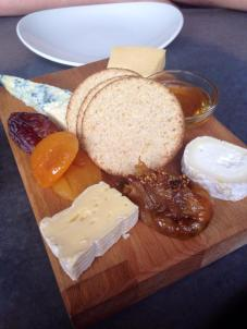 Cheeseboard at Ox and Finch