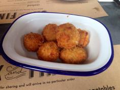 Ham Hock and Cheddar Croquettes
