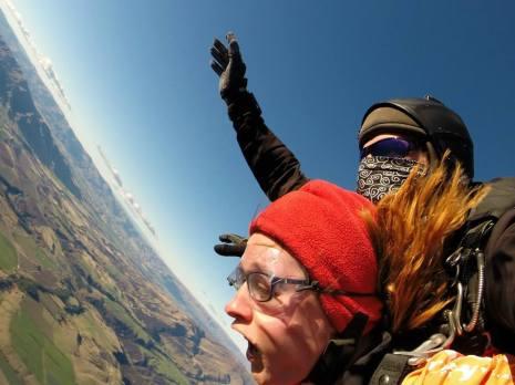 Skydiving in Wanaka