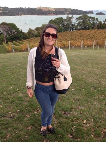 Wine tasting on Waiheke Island