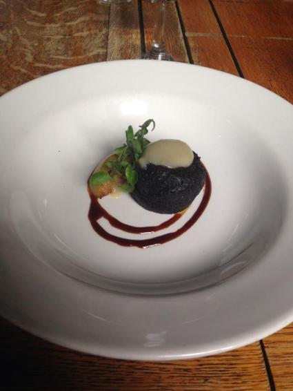 Black Pudding at the Grain Store
