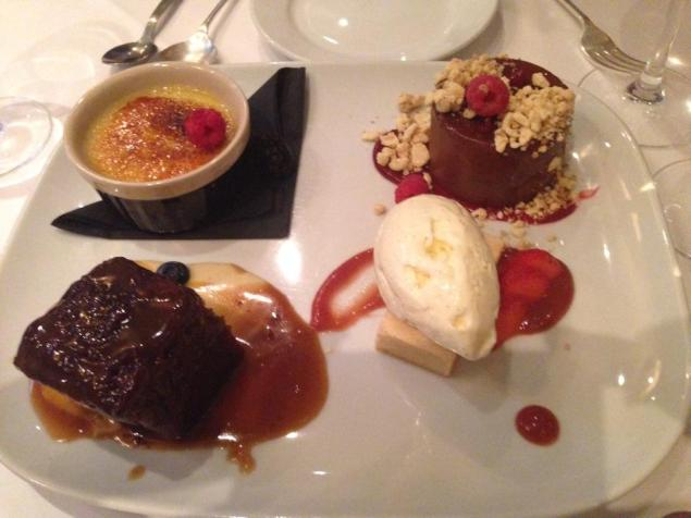 Sharing Desserts, Two Fat Ladies