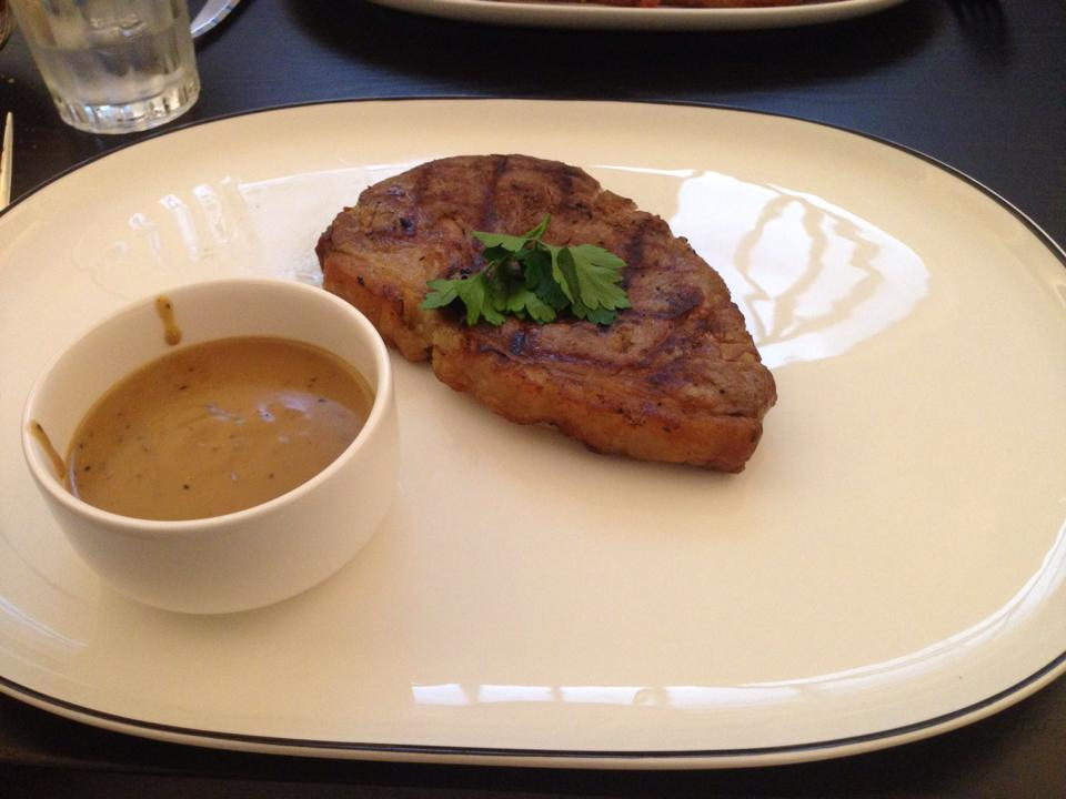 Sirlion Steak, The Anchor Line
