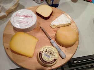 Cheese Board at Home