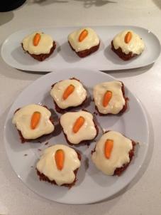 Homemade Mini Carrot Cakes