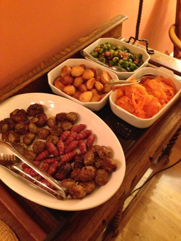 Christmas Dinner in the Glasgow Household!