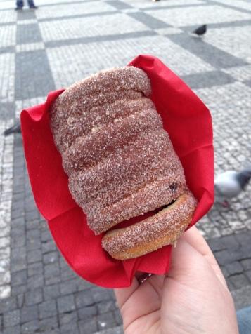 Delicious Pastry in Prague