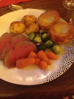 Mum's Roast Beef Dinner!