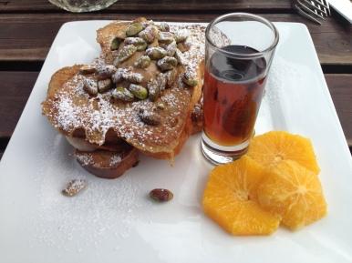 Breakfast in Christchurch, New Zealand