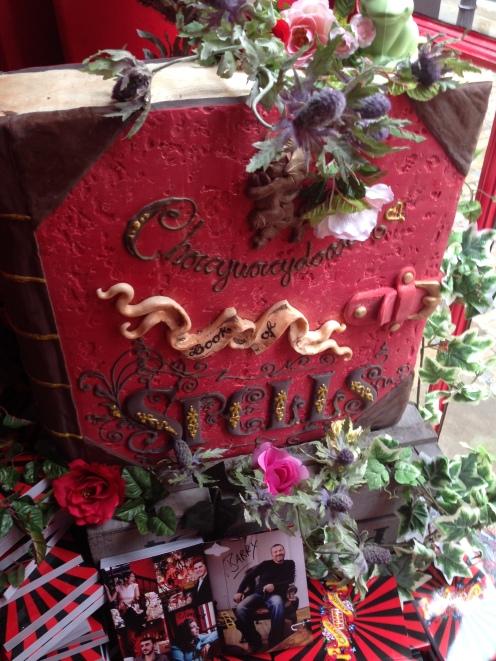 Chocolate Spellbook at Choccywoccydoodah