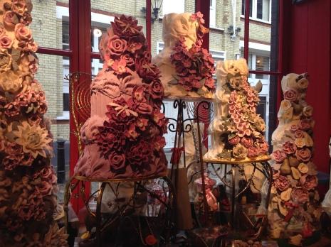 Wedding Cakes at Choccywoccydoodah in London