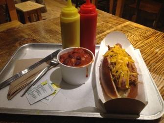Pulled Pork Hotdog