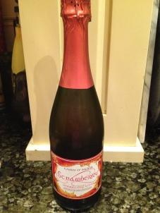 Strawberry Sparkling Wine