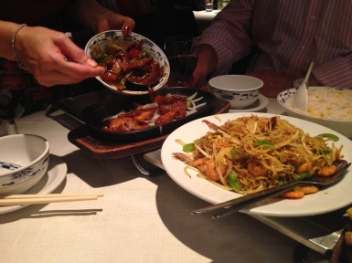 Pork and Noodles at Loon Fung
