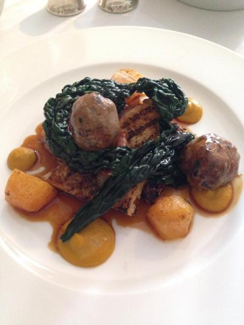 Peelham Farm Pork at The Dining Room