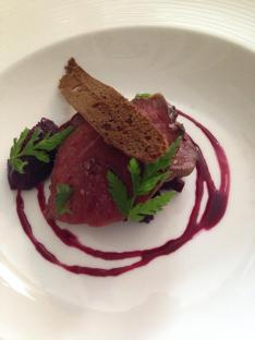Pigeon Breast at the Dining Room