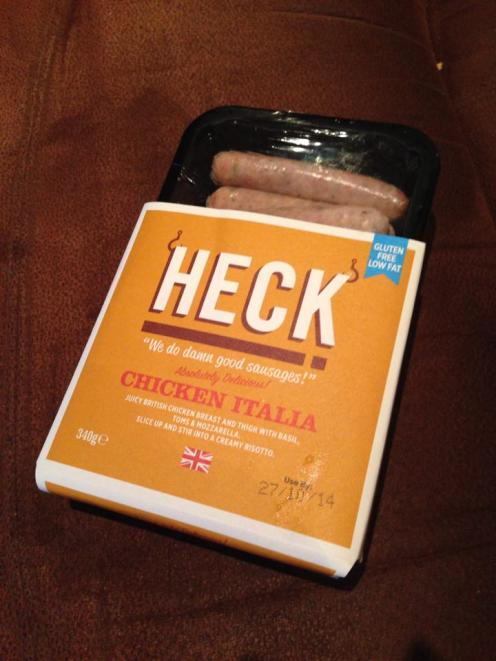Heck Chicken Sausages
