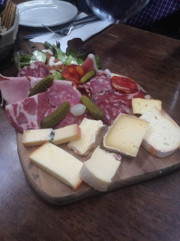 Charcuterie and Cheese at La p'tite folie
