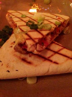 Smoked Chicken & Oaxana Onion Quesadilla