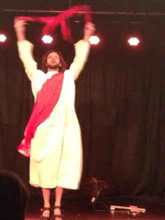 Jesus at the Cabaret