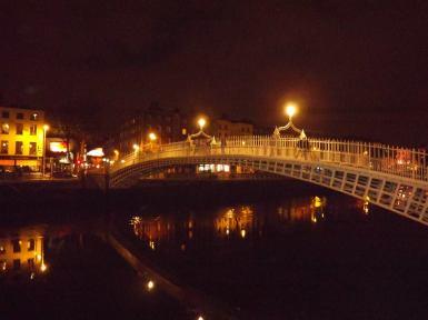 Ha'Penny Bridge in Dublin
