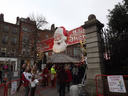 Entrance to the Christmas Market