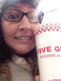 Five Guys Selfie