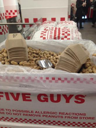 Five Guys Peanuts