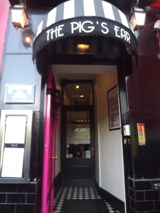 The Pigs Ear Exterior
