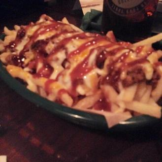 Pulled Pork Fries, Kitty O'Shea's