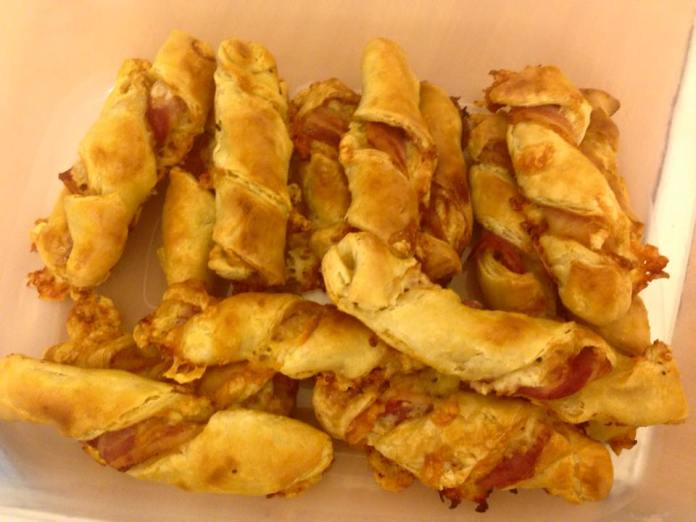 Cheese and Bacon Twists