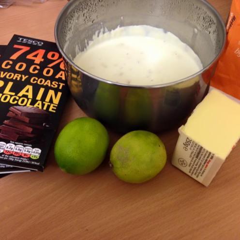 Chocolate Tart Ingredients