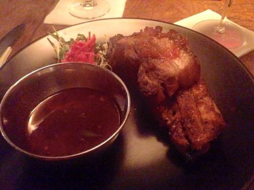 Pork Belly Ribs, Meat Bar