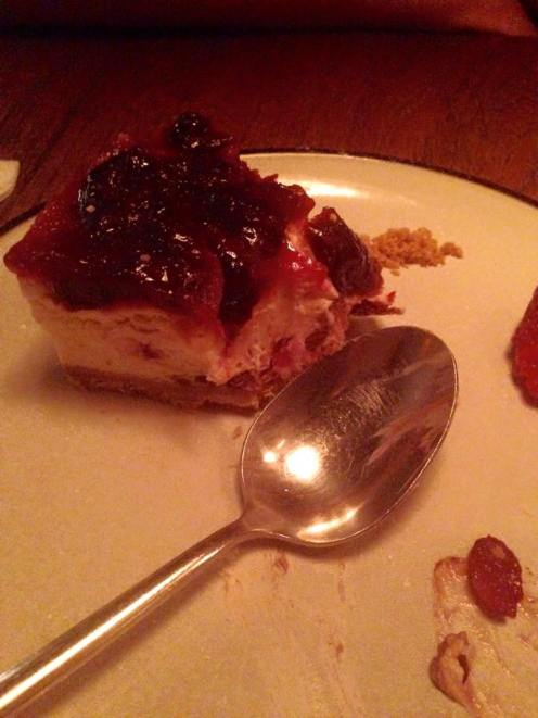 Chocolate, Cherry & Almond Cheesecake