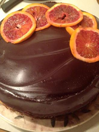 Blood Orange Cheesecake!