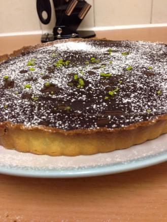 Step 4: Chocolate Tart