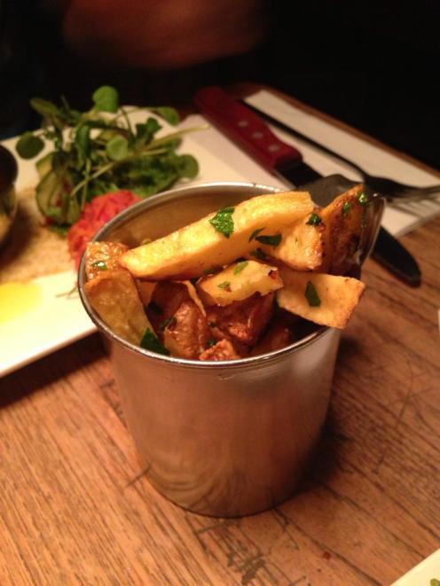 Truffle & Parsley Fries, Meat Bar