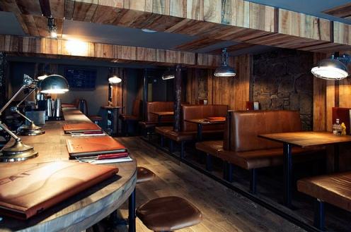 Inside Meat Bar