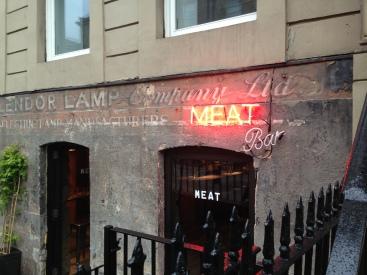 Meat Bar Exterior