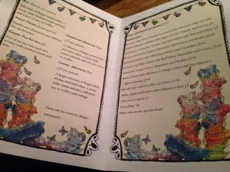 Inside the Menu