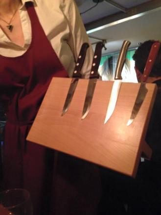 Knife Selection