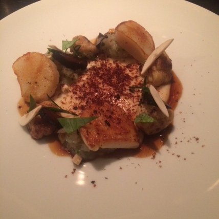 Sherried Scallop, Dinner by Heston