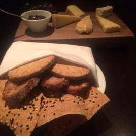Cheese and Crackers at Dinner by Heston