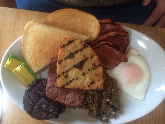 Big Beltie Breakfast at Kilnford Barns