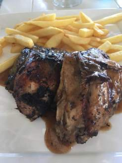 Jerk chicken in the Caribbean