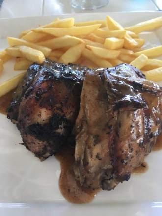 Jerk chicken in the Caribbean